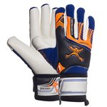 Precision Goalkeeper Glove Schmeichology 5 Fusion Scholar Blue/Orange/Black