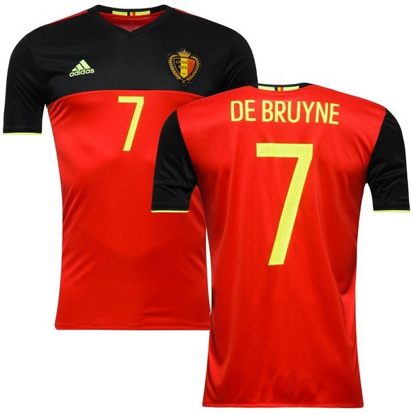 6ce770f7efd Belgium Home Shirt 2016 17 DE BRUYNE 7 Kids. Read more about the product. - football  shirts image shadow