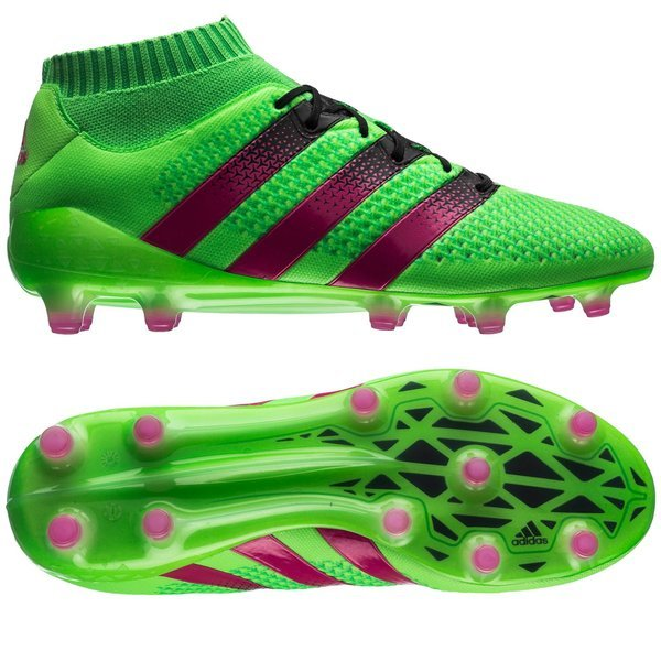 c70fc78c61a 250.00 EUR. Price is incl. 19% VAT. -50%. adidas ACE 16.1 Primeknit FG AG  Solar Green Shock Pink Core Black