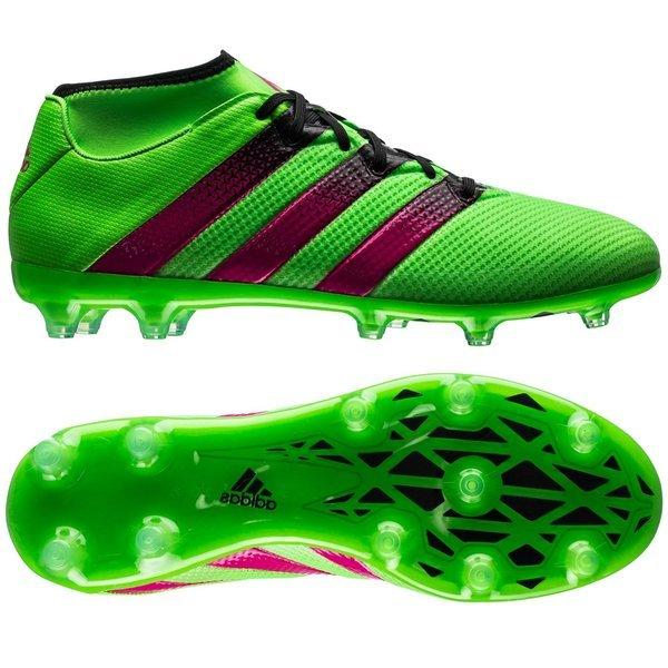 quality design 61df4 9afd1 130.00 EUR. Price is incl. 19% VAT. -30%. adidas ACE 16.2 Primemesh FG AG  Solar Green Shock Pink Core Black