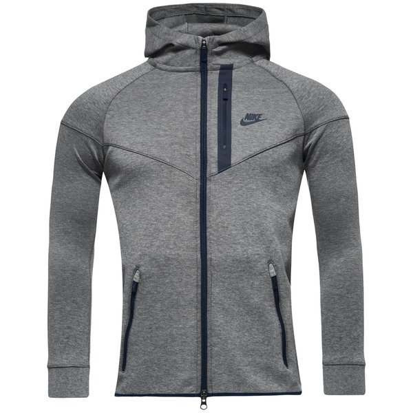 3fde7c37ff7c Nike Tech Fleece Windrunner Carbon Heather Obsidian Kids