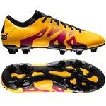 adidas X 15.1 FG/AG Gelb/Pink/Schwarz