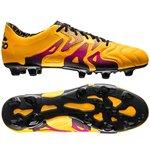 adidas X 15.1 Skind FG/AG Gul/Pink/Sort