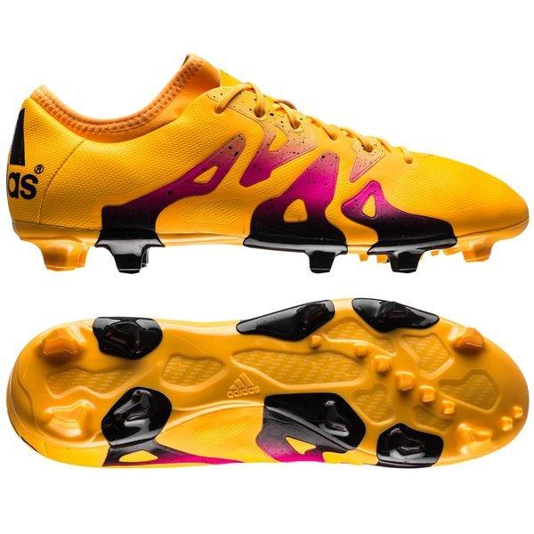 more photos a0169 062b5 adidas - X 15.2 FG AG Gul Rosa Svart
