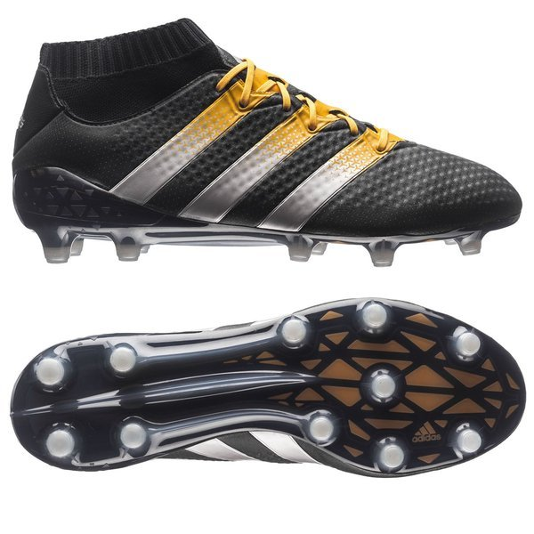 cea2759df65c6 250.00 EUR. Price is incl. 19% VAT. -50%. adidas ACE 16.1 Primeknit FG AG Core  Black Matte Silver Solar Gold