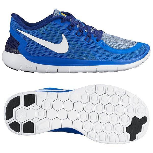 online store 82e4d 60d03 Nike Free - Löparskor 5.0 Blå Navy Vit Barn. Läs mer om produkten. -  löparskor. - löparskor image shadow