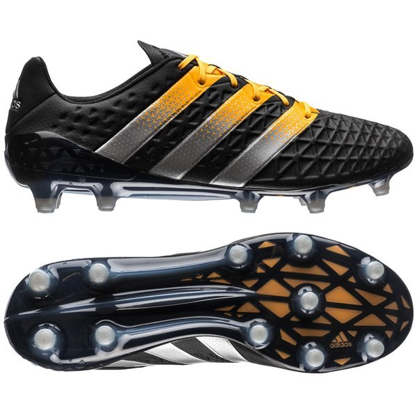 adidas ACE 16.1 FG/AG Core Black/Silver Metallic/Solar Gold. Read more  about the product. Compare models. - football boots. - football boots