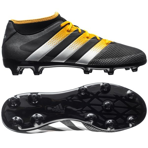 258322b72 adidas ACE 16.3 Primemesh FG AG Core Black Matte Silver Solar Gold. Read  more about the product. - football boots. - football boots image shadow