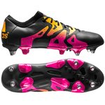 adidas X 15.1 SG Core Black/Shock Pink/Solar Gold