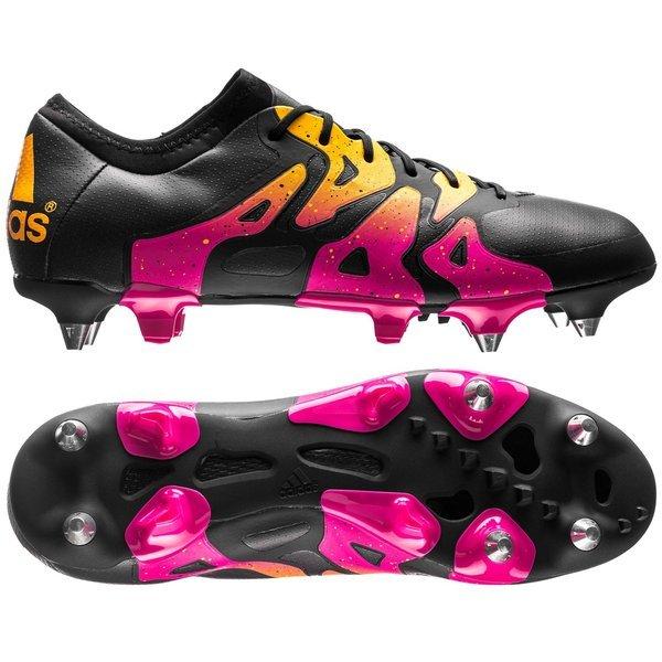 adidas X 15.1 SG Schwarz Pink