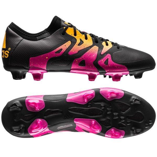cheap for discount 94380 1cdb9 adidas - X 15.1 FG AG Svart Rosa Gul
