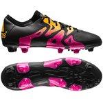 adidas X 15.1 FG/AG Sort/Pink/Gul