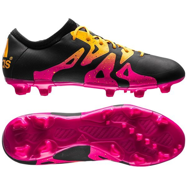 africano Gastos dosis  adidas X 15.2 FG/AG Core Black/Shock Pink/Solar Gold   www ...