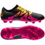 adidas X 15.2 FG/AG Sort/Pink/Gul