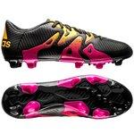adidas X 15.3 FG/AG Sort/Pink/Gul
