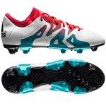 adidas X 15.1 FG/AG Hvid/Turkis/Sort Dame