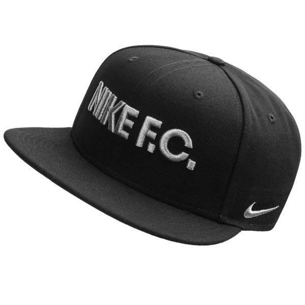 cozy fresh best prices cheap price Nike F.C. Casquette Snapback Noir/Argent