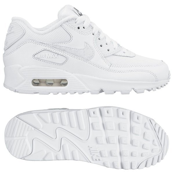 big sale 9ce69 bed0a uk nike air max 90 mesh vit barn unisportstore.se a81a3 a6f3c