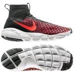 Nike Air Footscape Magista Flyknit Schwarz/Rot/Weiß