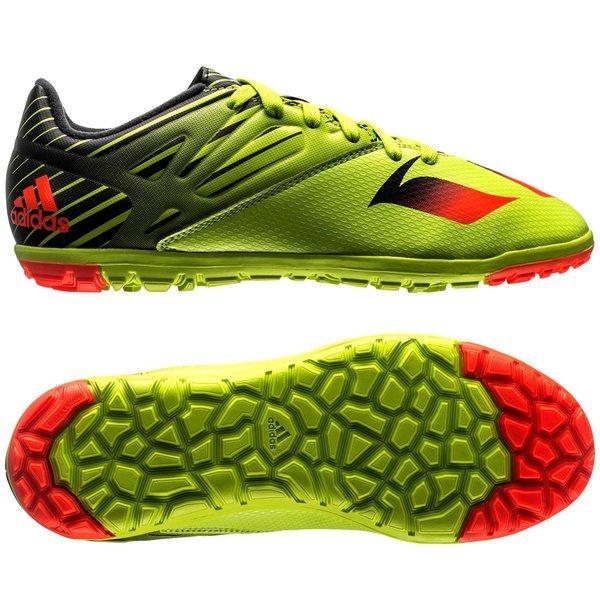 Sokkesko Adidas Messi 15.3 TF Fotballsko Grønn Svart rød