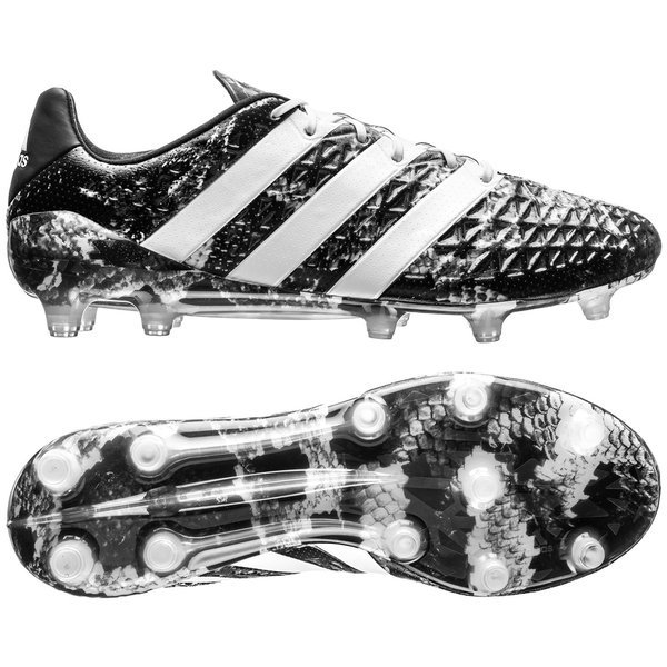 best website c653a 32292 adidas ACE 16.1 Deadly Focus FG/AG Core Black/White LIMITED ...