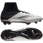 Nike Mercurial Superfly Leder Tech Craft FG Weiß/Schwarz