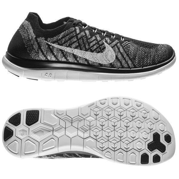 info for 492bf 06535 Nike Hardloopschoenen Free 4.0 Flyknit Zwart Grijs Vrouwen 0