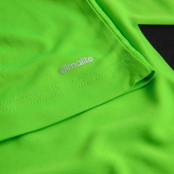 adidas Trainings T Shirt GrünSchwarz Kinder
