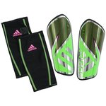 adidas Shin Pads Ghost Pro Solar Green/Core Black/Shock Pink
