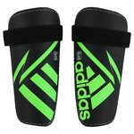 adidas Shin Pads Ghost Lite Solar Green/Core Black