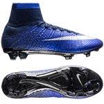 Nike Mercurial Superfly CR7 Blau/Silber/Schwarz FG