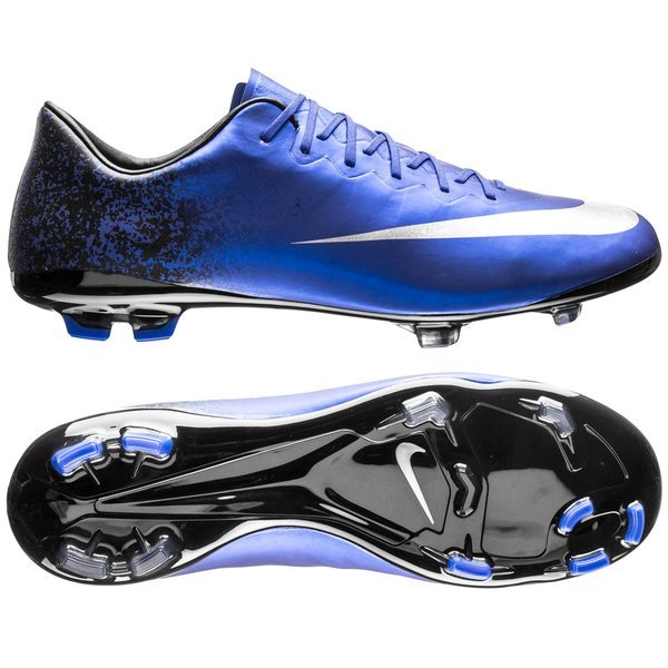 Royal Blue Soccer Shoes