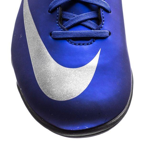 newest f5b29 8577d Nike Mercurial Victory V CR7 Blå Sølv Sort TF Barn 3
