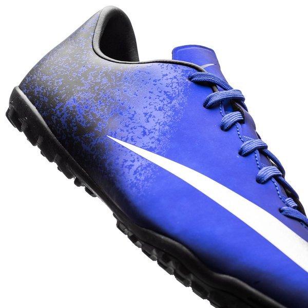 new style d1749 00b3e Nike Mercurial Victory V CR7 Blå Sølv Sort TF Barn 7