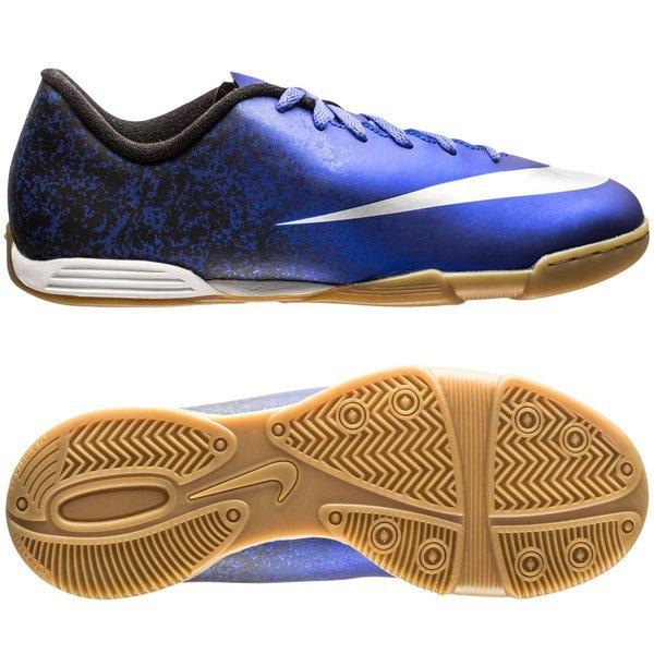 Nike Mercurial Vortex II CR7 Deep Royal Blue Metallic Silver Black ... 15f2acb92f927
