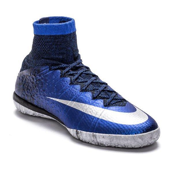 23d9013fea77 Nike MercurialX Proximo CR7 Deep Royal Blue/Metallic Silver/Black IC ...