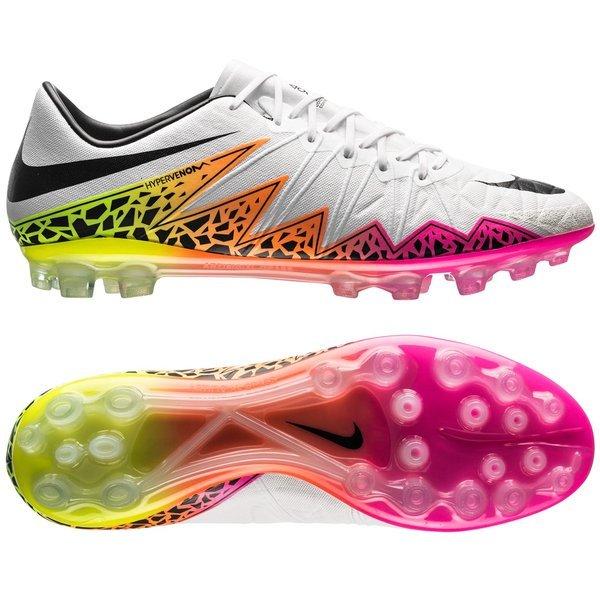 on sale 94312 4875a Nike - Hypervenom Phinish AG Vit Svart Orange