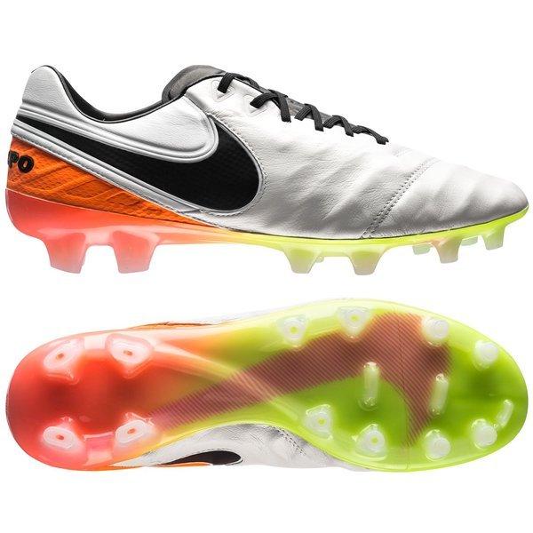 info for afc00 9c215 Nike Tiempo Legend 6 FG White/Black/Total Orange   www ...