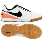 Nike Tiempo Legend 6 IC White/Black/Total Orange Kids