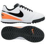 Nike Tiempo Legend 6 TF White/Black/Total Orange Kids