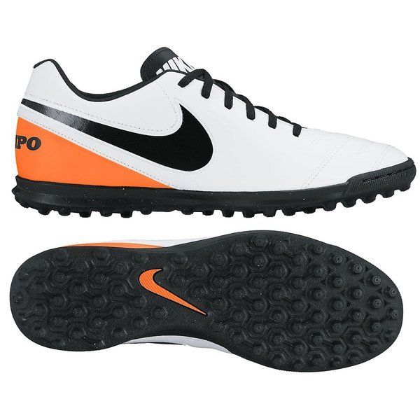 c182b0e92d3c Nike Tiempo Rio III TF White/Black/Total Orange | www.unisportstore.com