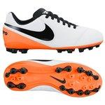 Nike Tiempo Legend 6 AG White/Black/Total Orange Kids