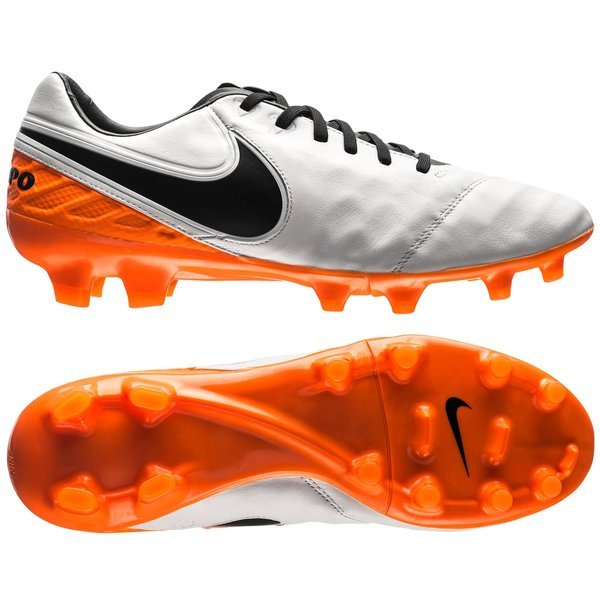 Nike Tiempo Legacy II FG White/Black/Total Orange. Read more about the  product. Compare models. - football boots. - football boots