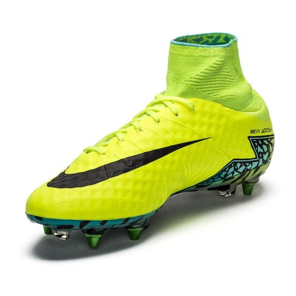 great fit new arrival 50% off Nike Hypervenom Phantom II SG-PRO Jaune Fluo/Noir/Turquoise