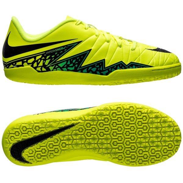 info for be3d9 4442c Nike Hypervenom Phelon II IC Volt Black Hyper Turquoise Kids   www ...