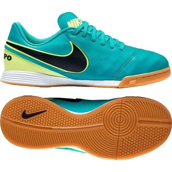 innovative design d1ca4 d4632 Nike Tiempo Legend 6 IC Clear Jade/Black/Volt Kids | www ...