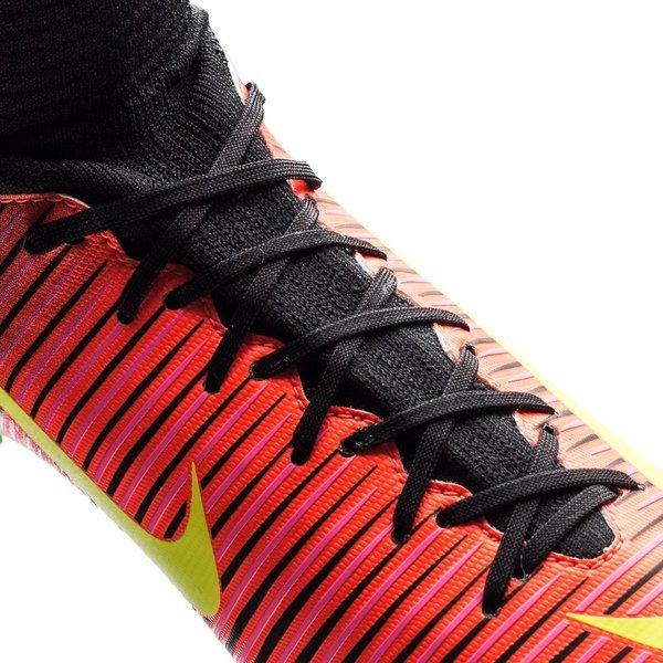finest selection aee44 ce1af Nike - Mercurial Superfly V FG Röd Neon Svart Barn