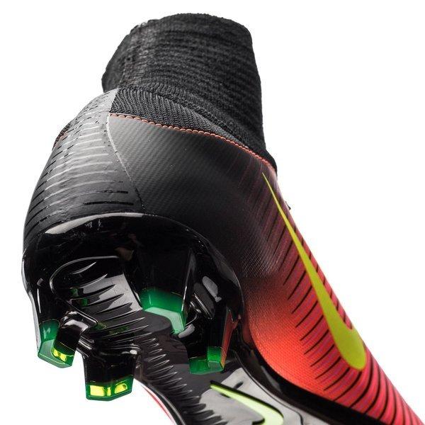 online store ccf45 db0ef Nike - Mercurial Superfly V FG Röd Neon Svart Barn. Produkten är slut