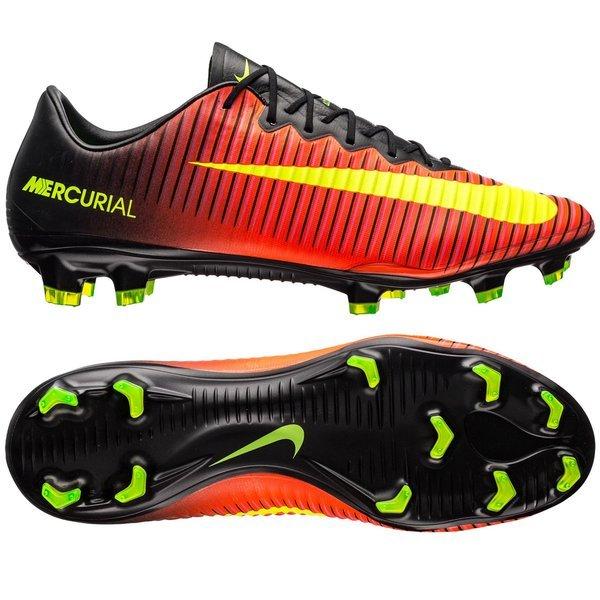 Nike Mercurial Vapor XI FG schwarz rot Fussballschuhe