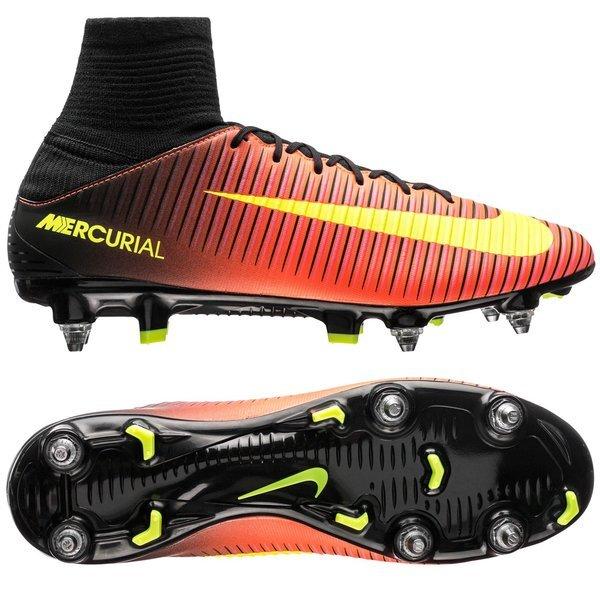 Nike Mercurial Veloce III SG PRO RougeJaune FluoNoir